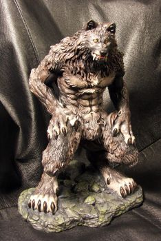 Angela's Werewolf painted by Meadowknight