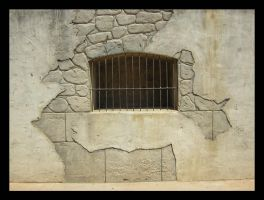 Wall with bars... by Adaae-stock