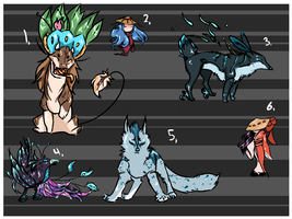 Mixed adopts (closed) by Naeezadopts