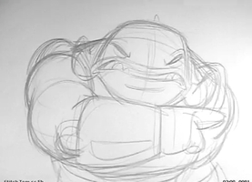 Gantu rough animation (Lilo and Stitch Ride) by tombancroft