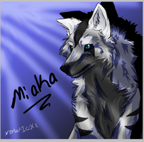 new drawing style for wolves by XBlackIce