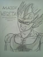 Majin Vegeta by ZeroHunter112