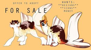 CALICO FANCY ANUBIUS- OFFER TO ADOPT- CLOSED! by SinCommonStitches