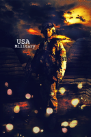 USA Army Vertical Signature by Darkmy1