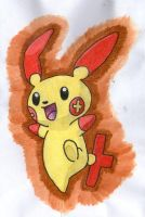 Plusle by twilightlinkjh