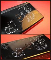 Comission: Engraved Okami DS by Yuki-Myst