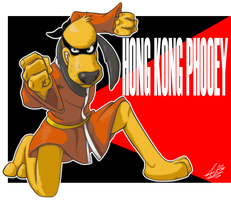Hong Kong Phooey by Ninjaco