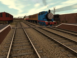 Thomas and his Special Coach by SkarloeyRailway