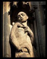 Cologne Cathedral - Detail 31 by tmfNeurodancer