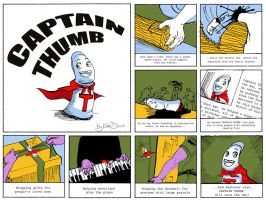 Captain Thumb by aubergineverde