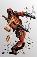 Deadpool Coloured by NineteenPSG