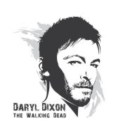 Daryl Dixon by pin-n-needles