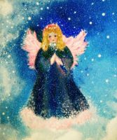 Angel of snow by milenkadelic