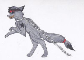 Chained and Dangerous by DarkStarWolf13