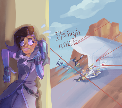 My experience as Sombra. by Rykey2345