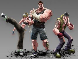 Streetfighters by Cashong