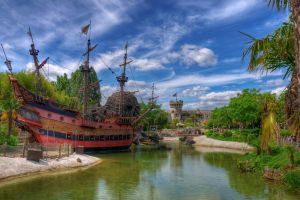 Captain Hook's Pirate Ship by kirky