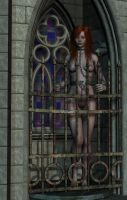 Gothic Prisoner by oldpig