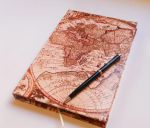 world map notebook by canela123