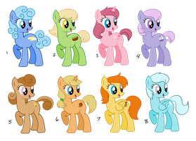 Adoptable Ponies Galore - free (closed) by Maiximillion3564