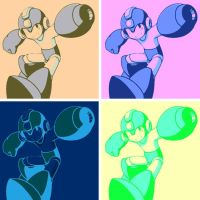 Megaman pop art 3 by DevintheCool