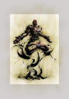 Dhalsim from SFIV by Bouinx