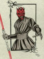 Darth Maul by seanforney