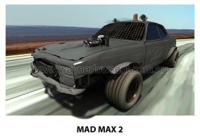 MAD MAX 2 TORANA by waynedowsent