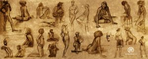 Spring 08 Figure Drawing by klampdesign