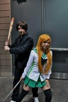 Rei and Takashi from Highschool of the Dead by Maomaoro