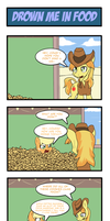 Pony 4 Koma - Drown Me in Food by Reikomuffin