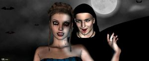 Vickie and the VAmpire  By ANena Studios by ANenaStudios