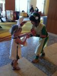 Momo and Toph by Bleach-Red-Abyss3