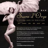 Sucre d'Orge website by kReEsTaL