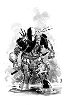 deathstroke by BChing