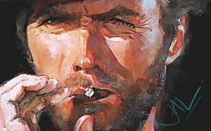 Clint Eastwood by JALpix