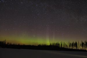 Aurora and a comet 4 by Antza2