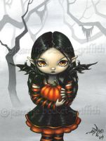 Pumpkin Pixie by jasminetoad