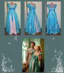Enchanted Curtain Dress by Gewandfantasien