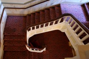 Stairs in the Fulton Theater by nwalter
