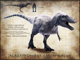 Albertosaurus Showcase by Sketchy-raptor