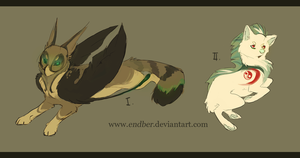 I. and II. Adoptables [Auction CLOSED] by Endber