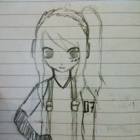 My Vocaloid Oc - Rough Sketch by abbey1010