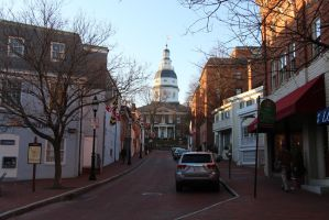 Old Annapolis Maryland by Theinkcat