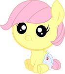 Baby Fluttershy by Twitchy-Tremor