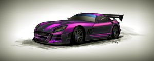 TVR Cerbera Racecar by JacobKuiper