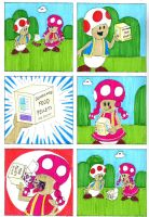 Bloated Toadette Page 1 by EmperorNortonII