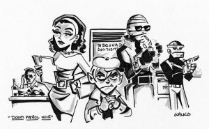 Doom Patrol Noir by BillWalko