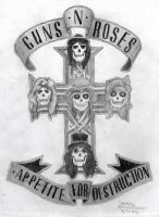 Guns N Roses AfD by uberkid64