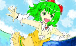 Request Gumi coloured by Eye-Wuv-Manga124